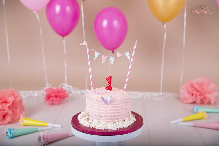 Douvaine séance smash cake