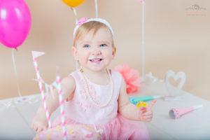 photo smash cake anniversaire bebe Douvaine Thonon Annemasse Geneve
