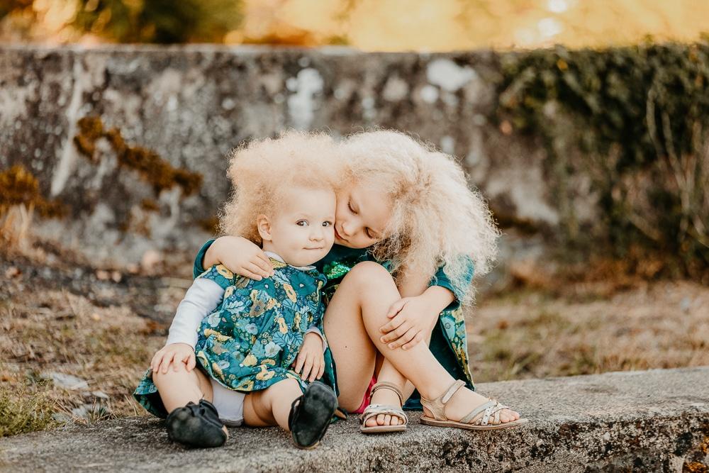photographies famille lifestyle exterieur lac montagne douvaine thonon soeurs