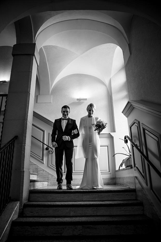photo mariage couple mairie Bonneville