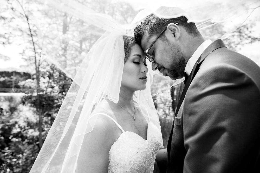 photographe mariage annemasse couple voile geneve ceremonie
