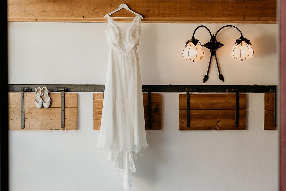 photographe mariage robe de mariee porte des iris Lausanne
